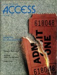 Access Magazine, Fall/Winter 1986 by San Jose State University, School of Journalism and Mass Communications