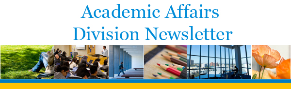 Academic Affairs Division Newsletter
