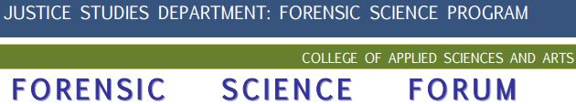 Forensic Science Forum (Justice Studies)