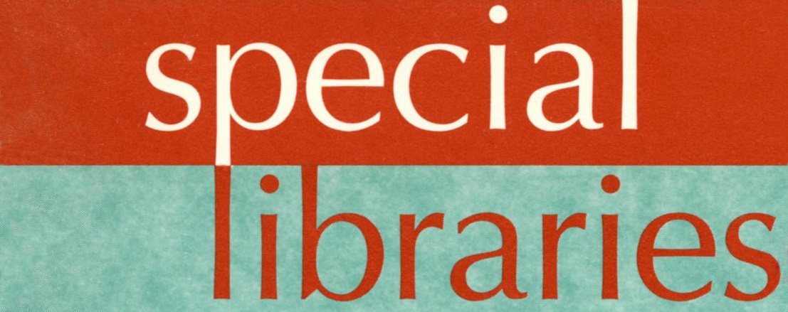 Special Libraries, 1970s
