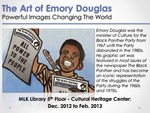 The Art of Emory Douglas Flyer by San Jose State University, Cultural Heritage Center