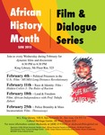 African History Month Film & Dialogue Series 2015 by San Jose State University, Cultural Heritage Center
