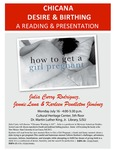 Chicana Desire & Birthing: A Reading & Presentation by San Jose State University, Cultural Heritage Center