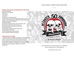 El Teatro Campesino 50th Anniversary Program by San Jose State University, Cultural Heritage Center