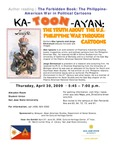 Author reading | The Forbidden Book: The Philippine-American War in Political Cartoons (Ka-TOON-Ayan)