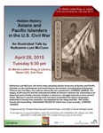 Hidden History: Asian and Pacific Islanders in the U.S. Civil War. An Illustrated Talk by Ruthanne Lum McCunn by San Jose State University, Cultural Heritage Center