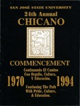 24th Chicano Commencement, 1994 by San Jose State University, Associated Students