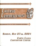 31st Chicano Commencement, 2001