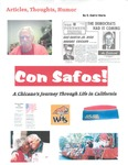 Con Safos: A Chicano's Journey Through Life in California by E. David Sierra
