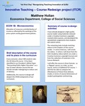 ECON 1B: Microeconomics Course Redesign by Matthew J. Holian