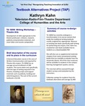 TA 100W: Writing Workshop -Theatre Arts Textbook Alternatives by Kathryn Kahn