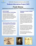 HS 158: Health Communications & Technology Textbook Alternatives