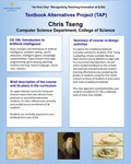 CS 156: Introduction toArtificial Intelligence Textbook Alternatives by Chris Tseng