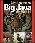 Big Java: Early Objects by Cay S. Horstmann
