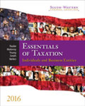 South-Western Federal Taxation 2016: Essentials of Taxation: Individuals and Business Entities by William A. Raabe, David M. Maloney, James C. Young, James E. Smith, and Annette M. Nellen