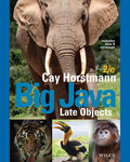 Big Java Late Objects by Cay S. Horstmann