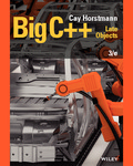 Big C++: Late Objects by Cay S. Horstmann