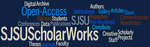 SJSU ScholarWorks Word Cloud