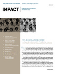 IMPACT, Fall 2013 by San Jose State University, Connie L. Lurie College of Education