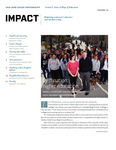 IMPACT, Spring 2013 by San Jose State University, Connie L. Lurie College of Education