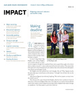 IMPACT, Fall 2012 by San Jose State University, Connie L. Lurie College of Education