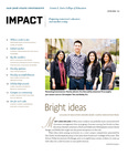 IMPACT, Spring 2012 by San Jose State University, Connie L. Lurie College of Education