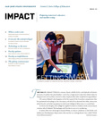 IMPACT, Fall 2011 by San Jose State University, Connie L. Lurie College of Education