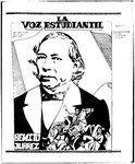 La Voz Estudiantil, Volume 1, No. 3
