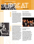 Upbeat, Nov. 2014 by San Jose State University, School of Music and Dance