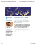 Stay in Time, Feb. 2013 by San Jose State University, School of Music and Dance