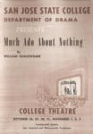 Much Ado About Nothing (1956) by San Jose State University, Theater Arts