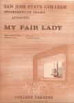 My Fair Lady (1965) by San Jose State University, Theatre Arts