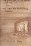 The Lady's Not for Burning (1964) by San Jose State University, Theatre Arts