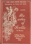 The Barber of Seville (1968) by San Jose State University, Theatre Arts