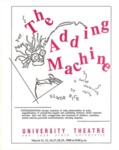 The Adding Machine (1988) by San Jose State University, Theatre Arts