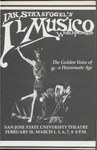 Il Musico (1986) by San Jose State University, Theatre Arts