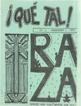 ¡Qué Tal! November 1, 1970 by Mexican American Graduate Studies, San Jose State College