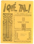 ¡Qué Tal! December 1, 1970 by Mexican American Graduate Studies, San Jose State College