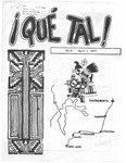 ¡Qué Tal! April 1, 1971 by Mexican American Graduate Studies, San Jose State College