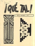 ¡Qué Tal! November 1, 1971 by Mexican American Graduate Studies, San Jose State College