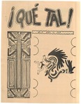 ¡Qué Tal! April 15, 1972 by Mexican American Graduate Studies, San Jose State College