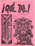 ¡Qué Tal! November 29, 1973 by Mexican American Graduate Studies, San Jose State College