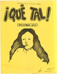 ¡Qué Tal! November 1974 by Mexican American Graduate Studies, San Jose State College