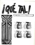 ¡Qué Tal! June 1, 1974 by Mexican American Graduate Studies, San Jose State University