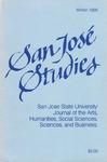 San José Studies, Winter 1986 by San José State University Foundation