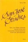 San José Studies, Spring 1986