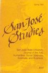 San José Studies, Spring 1987