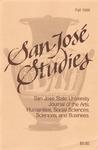 San José Studies, Fall 1988