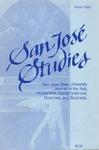 San José Studies, Winter 1989