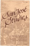 San José Studies, Fall 1989